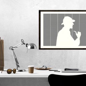 Sherlock Holmes Book Poster