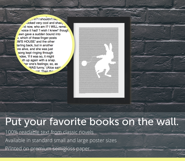 Books on the Wall Book Posters