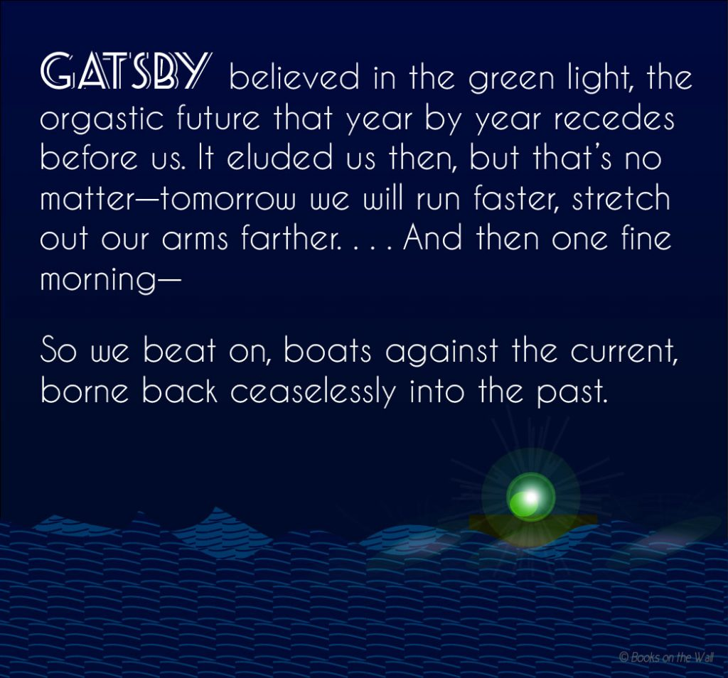 The Great Gatsby Quotes So We Beat On Www Pixshark Com