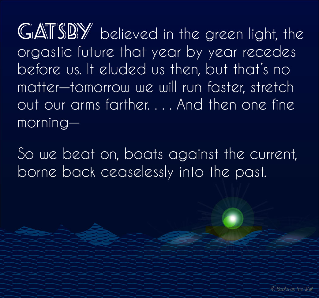 Green Light In The Great Gatsby Quotes: Words Wednesday: F. Scott Fitzgerald