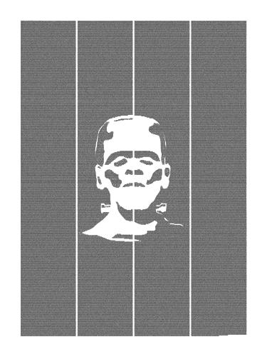 Frankenstein book poster image