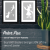 Peter Pan Book Poster Set (Peter, Tink, and Wendy and Captain Hook Designs)