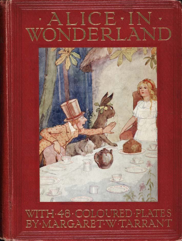 Alice in Wonderland (Illustrator: Tarrant, 1916) cover
