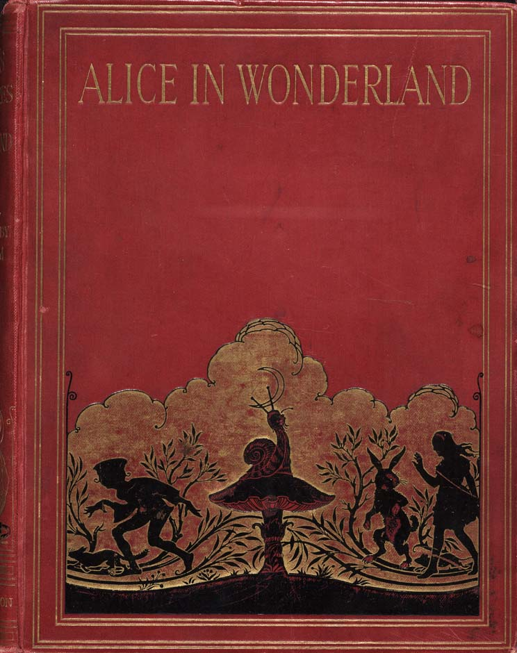 Alice in Wonderland (Illustrator: Hudson, 1922?) Cover