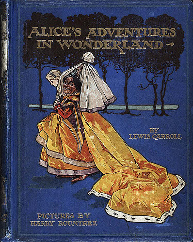 Alice's Adventures in Wonderland (Illustrator: Rountree: 1908) cover