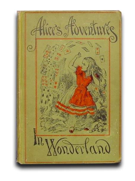 Alice in Wonderland book cover (1898)