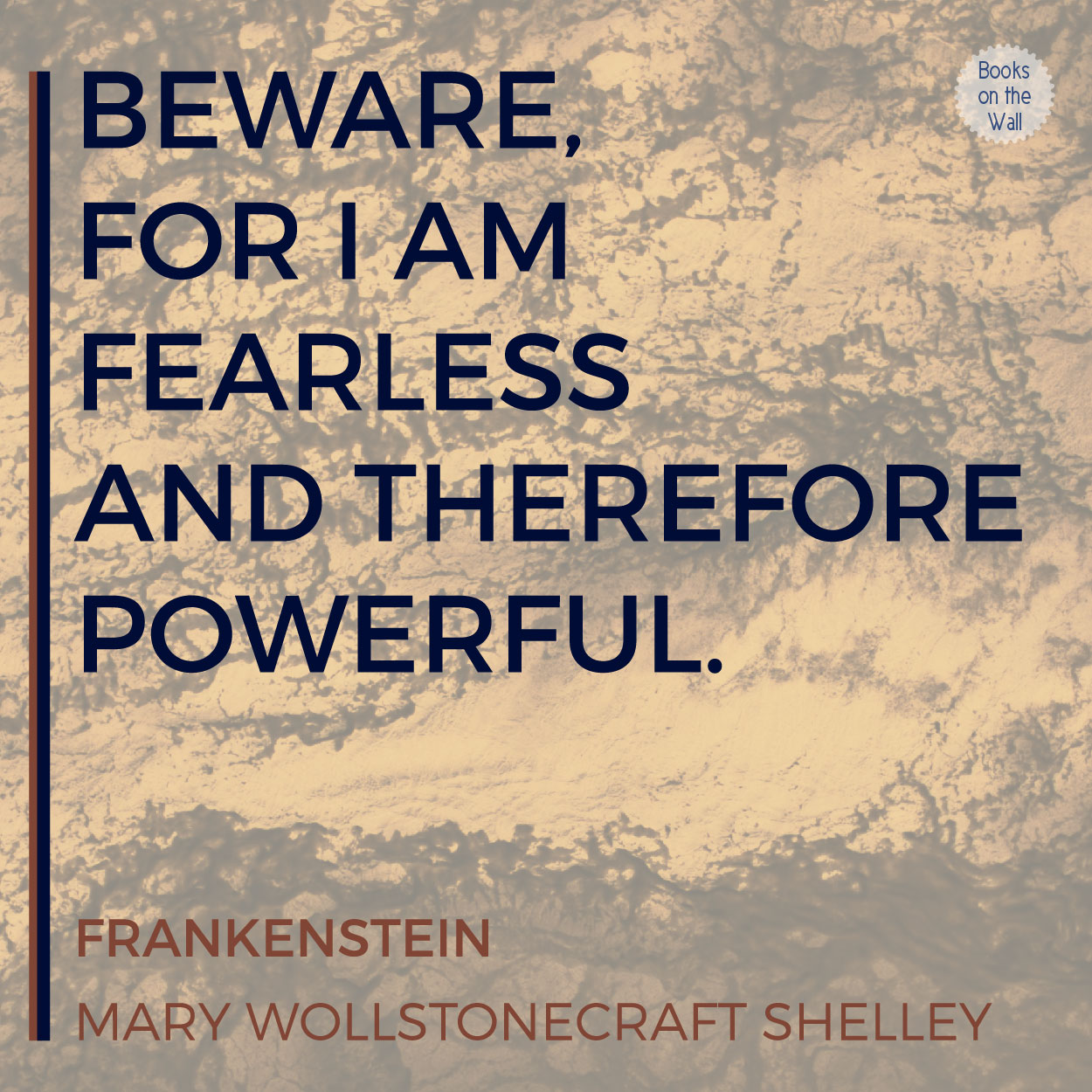 a literary analysis of the creature in frankenstein by mary shelley Close reading analysis in a passage of mary shelley's frankenstein, certain literary devices - such as sentence structure, diction, imagery, and concrete detail - are used to convey a peaceful, yet impossible tone.