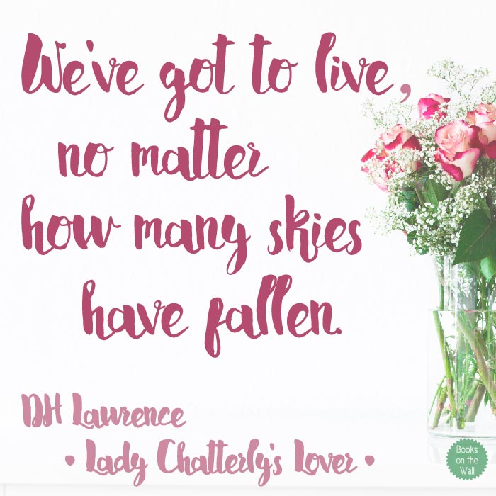 DH Lawrence Quote from Lady Chatterly's Lover
