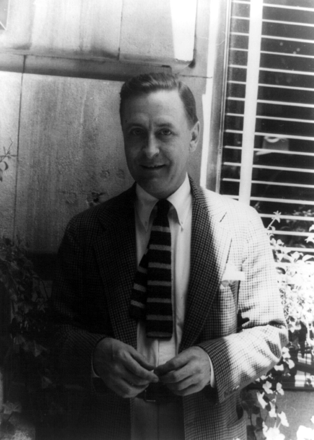 F. Scott Fitzgerald by Carl Van Vechten