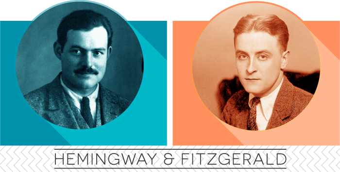 a comparison of f scott fitzgerald and ernest hemingway in literature We will write a custom essay sample on ernest hemingway, a legacy for american literature  ezra pound, f scott fitzgerald,  com/e/e/er/ernest_hemingway.