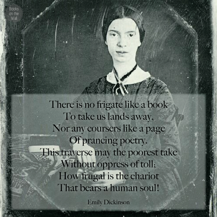 Emily Dickinson quote graphic