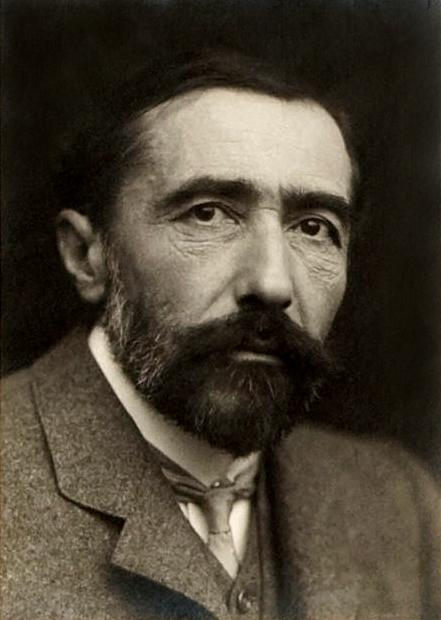 Joseph Conrad portrait Wikicommons