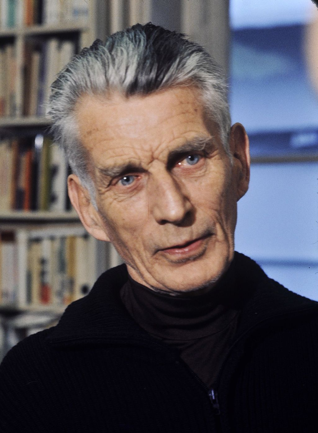 Samuel Beckett photograph