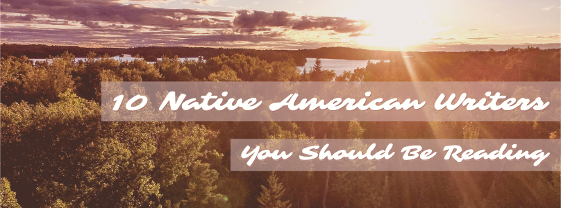 10 Contemporary Native American Authors blog post title graphic