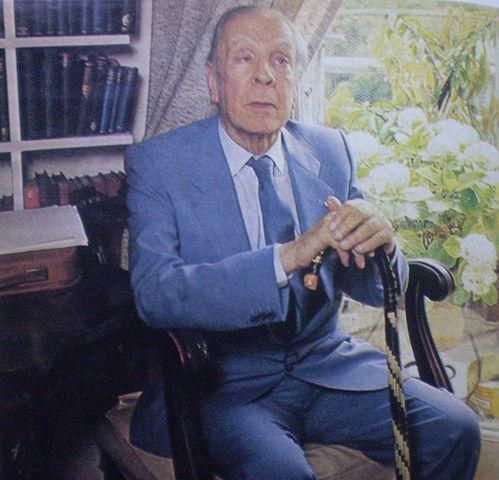 Jorge Luis Borges photo