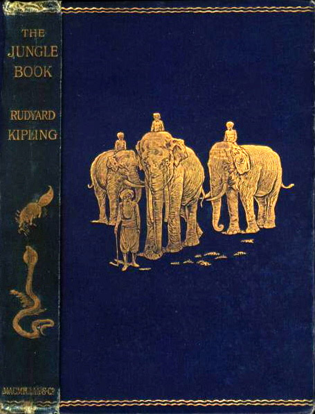First edition Jungle Book cover