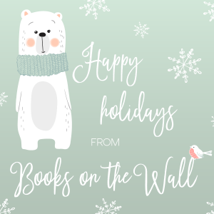 Happy holiday image from Books on the Wall