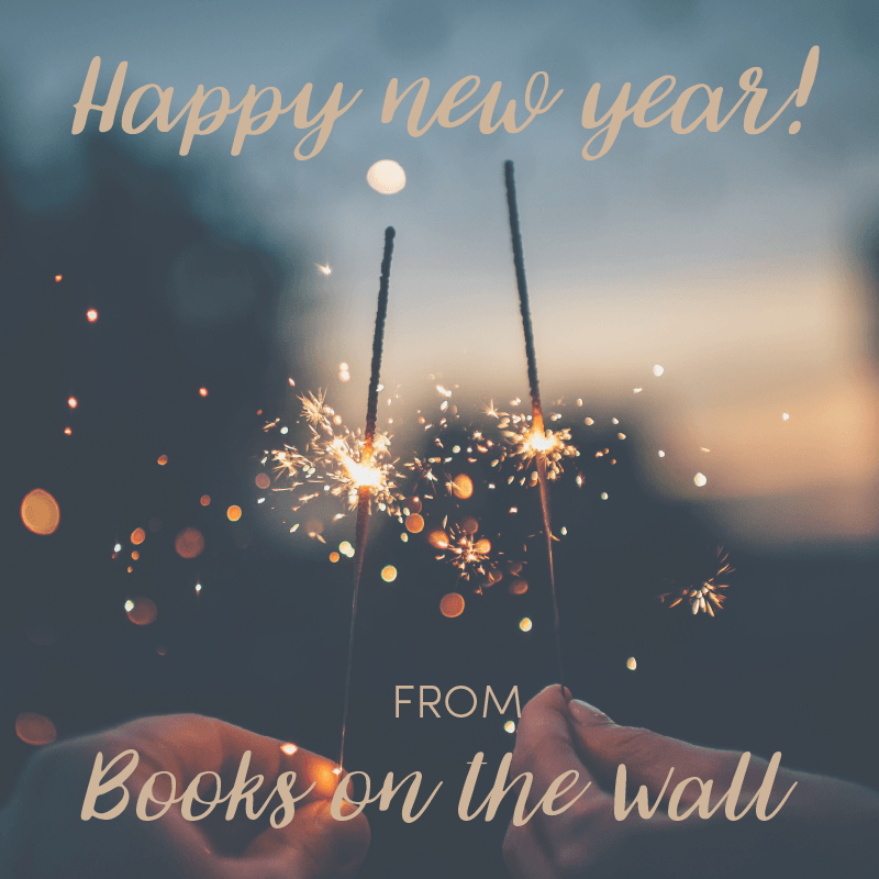 Happy new year from Books on the Wall