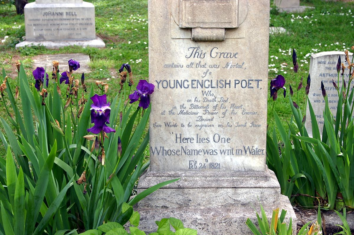 Tomb of John Keats