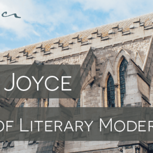 James Joyce signature, blog feature image