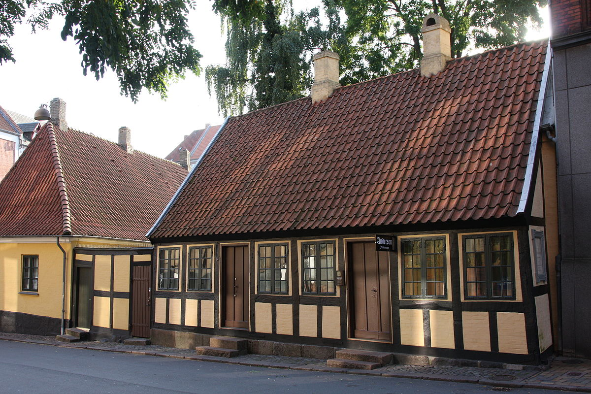 Hans Christian Andersen's childhood home in Odense