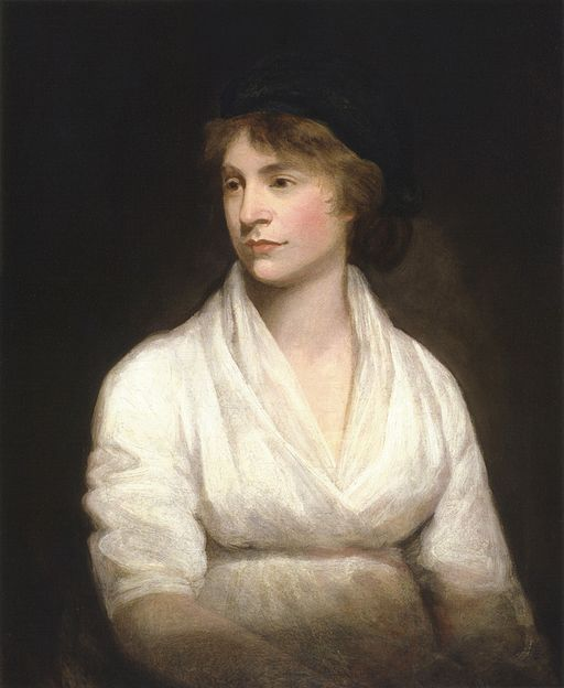 Mary Wollstonecraft, mother of Mary Shelley