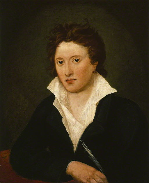 Percy Bysshe Shelley, husband of Mary Shelley