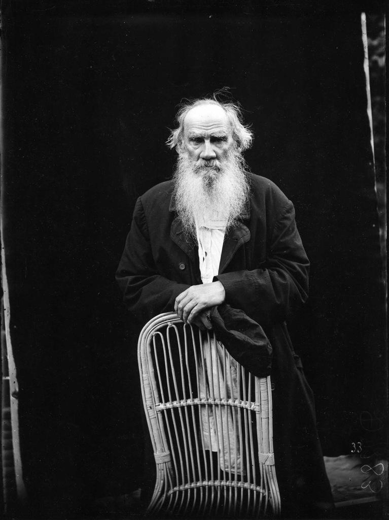 Leo Tolstoy portrait