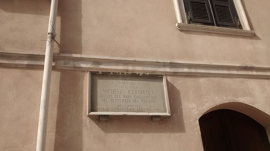 Commemorative Plaque for Miguel de Cervantes