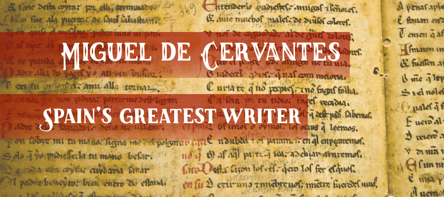 Miguel de Cervantes, author of Don Quixote