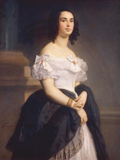 Adele Hugo, wife of Victor Hugo