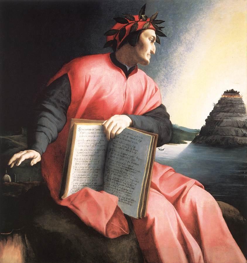 Ritratto di Dante, Angelo Bronzino, circa 1530