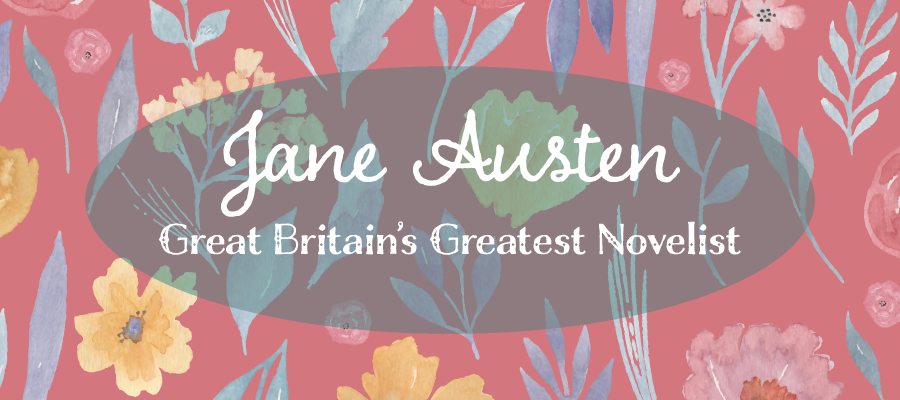 Feature image for Jane Austen novels blog