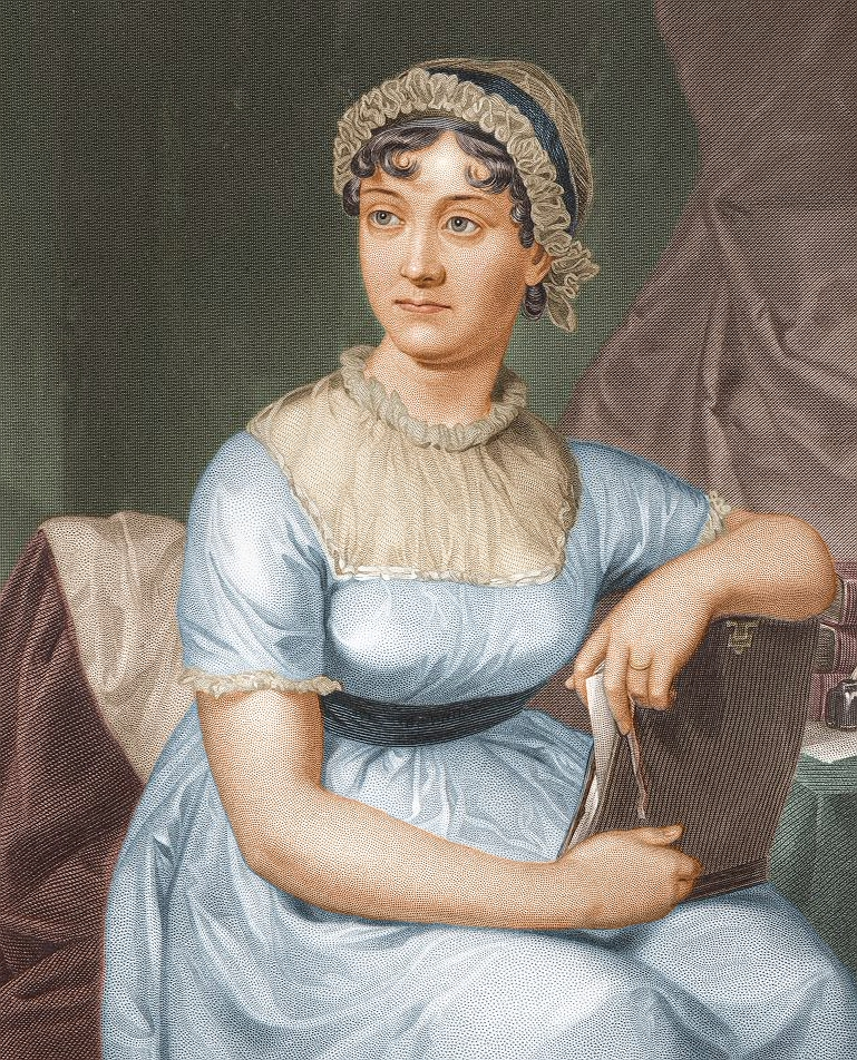 Jane Austen: Great Britain\'s Greatest Novelist | Books on the Wall