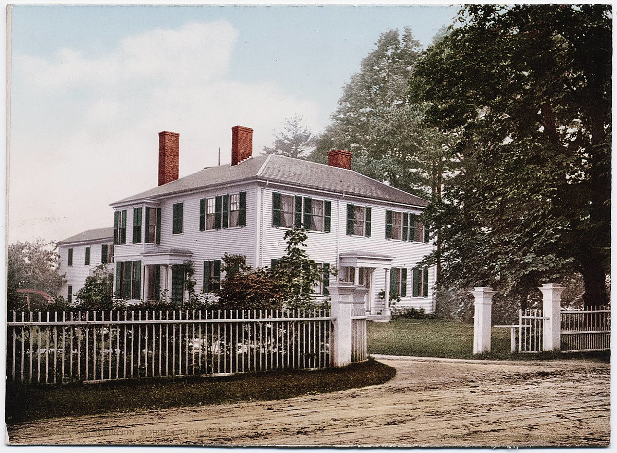 Ralph Waldo Emerson house in Concord, MA