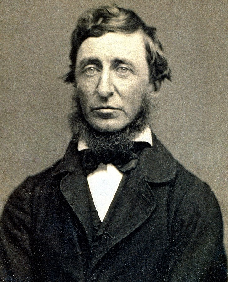Henry David Thoreau daguerreotype by Benjamin D. Maxham (restored)