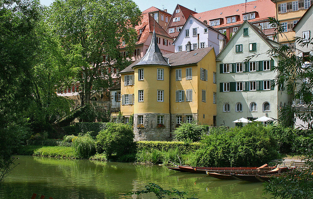 Hölderlinturm Tübingen, Germany