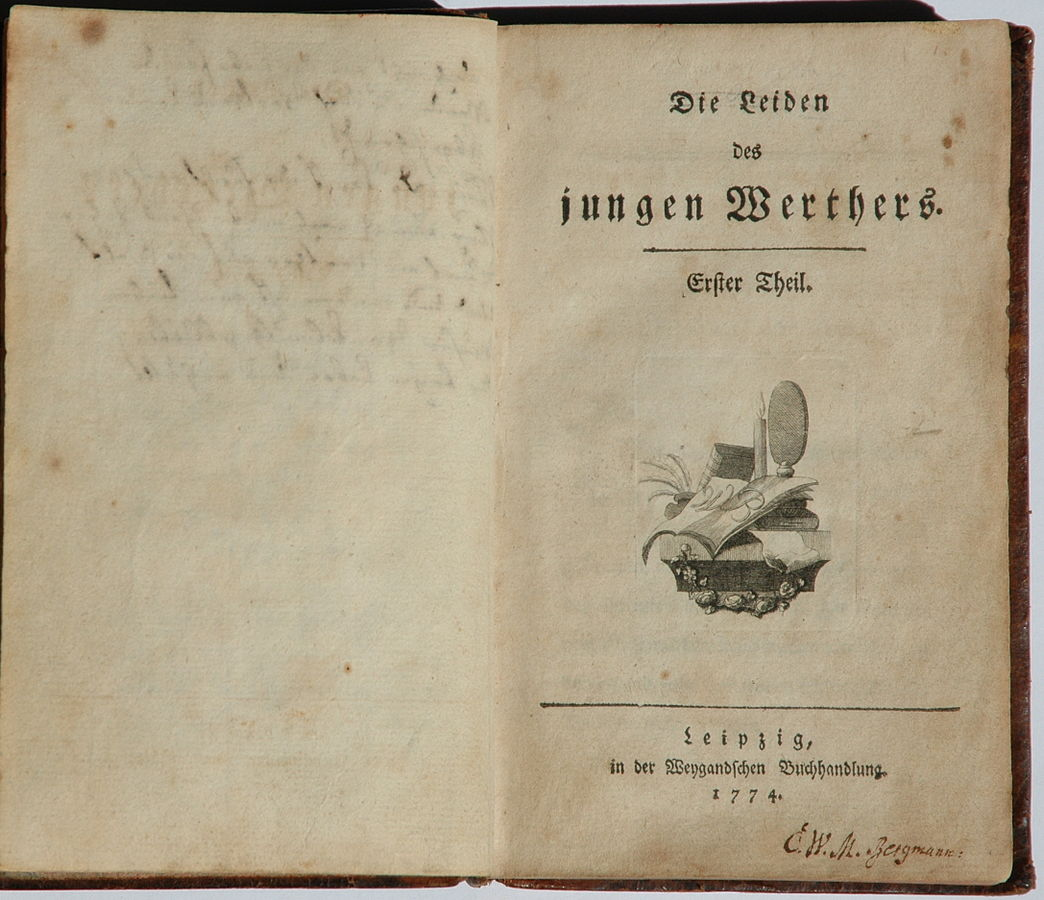 1774 - The Sorrows of Young Werther by H.-P.Haack