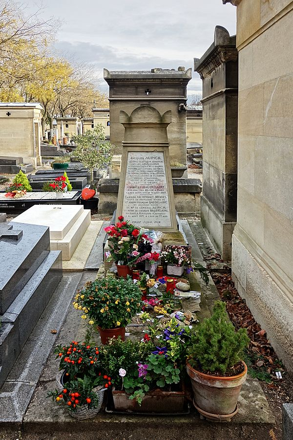 Grave of Charles Baudelaire
