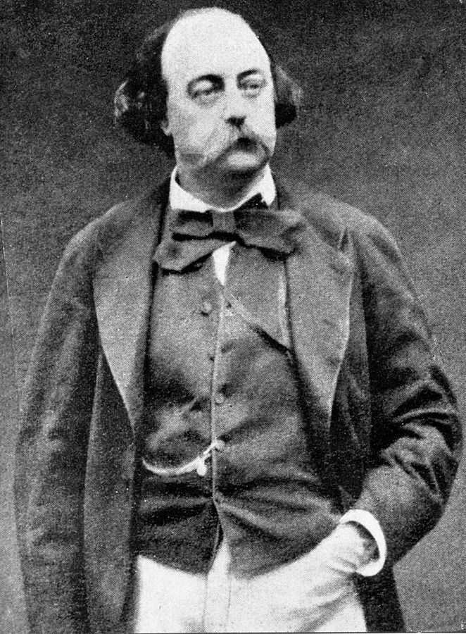 Photo print of Gustave Flaubert