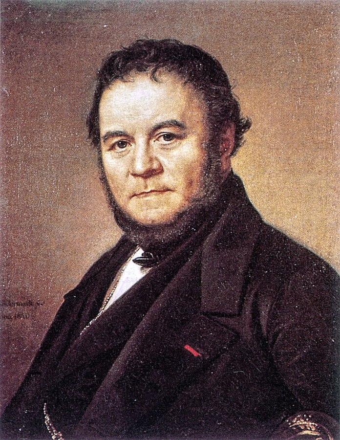 Portrait of Stendhal (Marie-Henri Beyle)