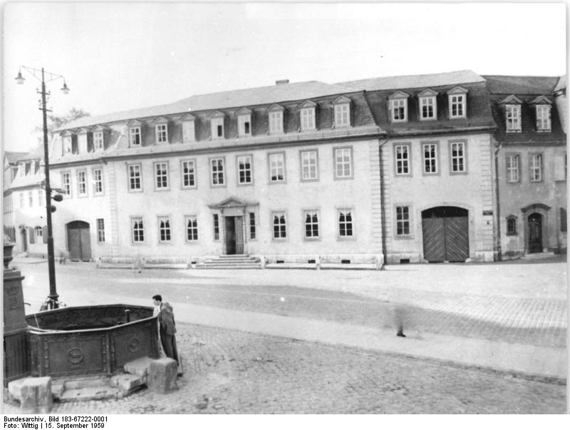 Goethe's Main House in Weimar
