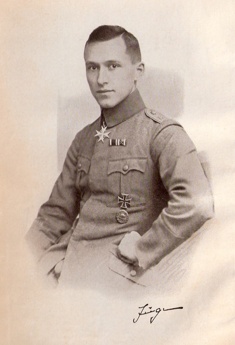 Ernst Jünger in military dress
