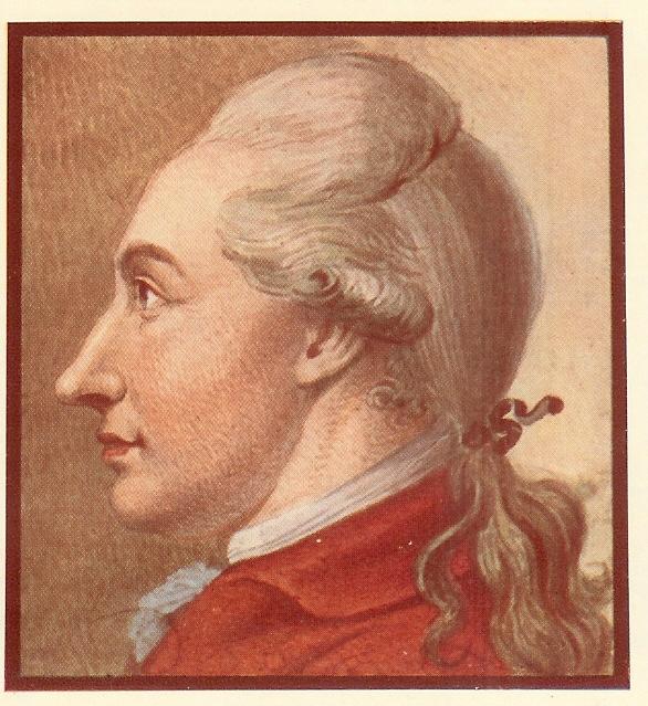 1774 - Johann Wolfgang Goethe, by Georg Friedrich Schmoll