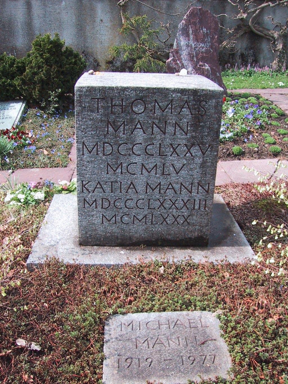 Thomas Mann's Grave in Kilchberg
