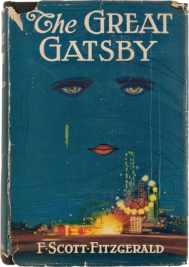 The Great Gatsby Cover (1925)