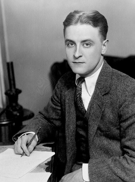 F. Scott Fitzgerald Portrait (1921)