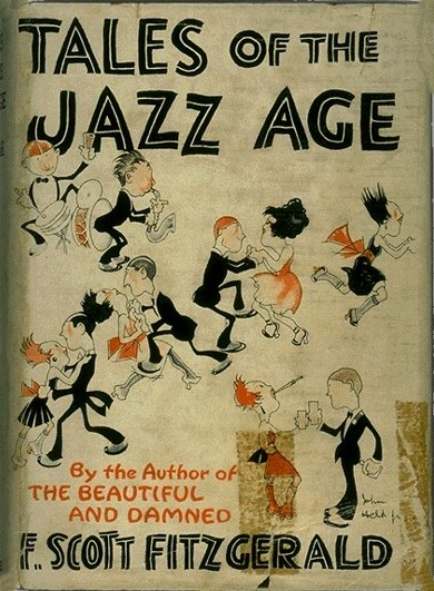 Tales of the Jazz Age, Illustrated Cover of F. Scott Fitzgerald short stories