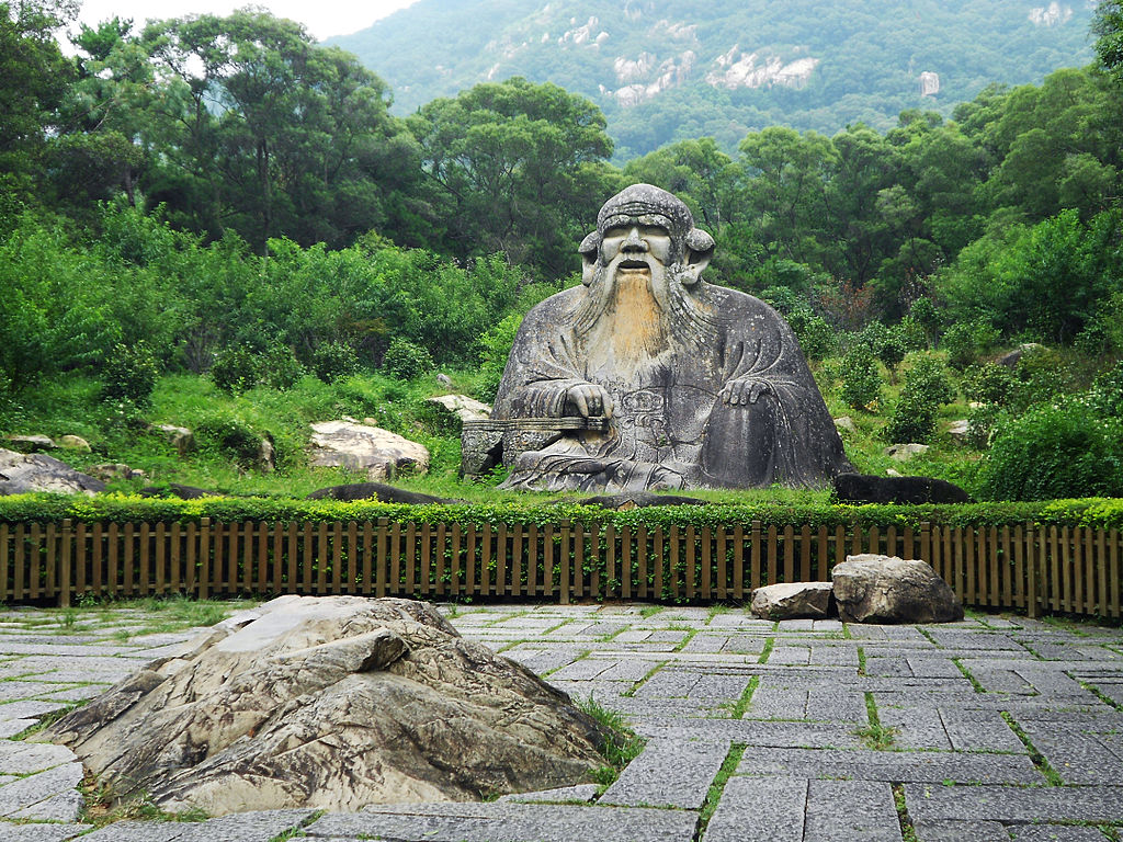 Statue of Lao Tzu by 氤氲小调