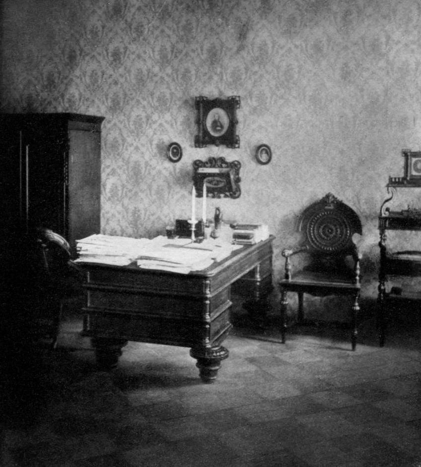 Fyodor Mikahailovich Dostoyevsky's Study in St. Petersburg